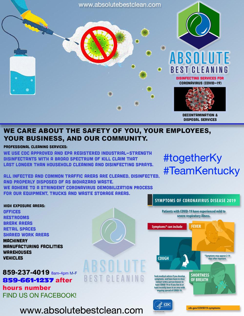 Kentucky Coronavirus Cleaning