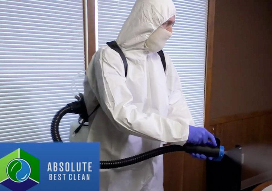 Absolute Best Cleaning Kentucky Coronavirus Sanitization Cleaning Video